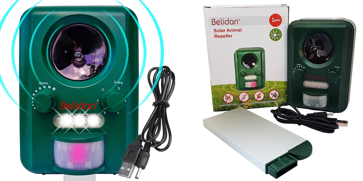 Belidan Animal Repellent Ultrasonic Outdoor